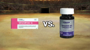 Vencipon N vs. Kaizen Ephedrine 8mg (Ephedrin Battle)